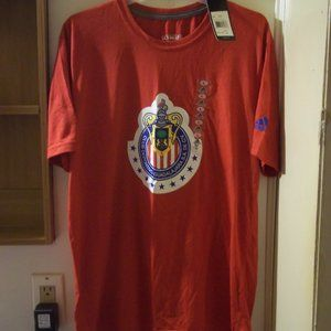 new Adidas Club Deportivo Soccer T-shirt L